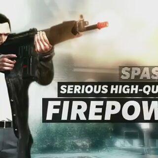 Max Payne con su SPAS-15.