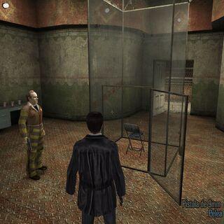 Escapando de la prisión.