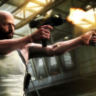 Apurando unos pocos disparos para encargarnos de un grupo de matones