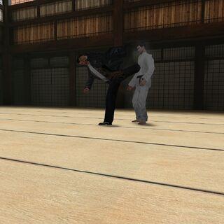 ¡Kung Fu a lo Max Payne!