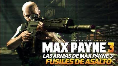 Max Payne 3 - Fusiles de asalto