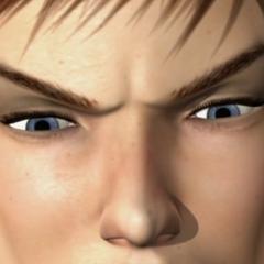 Ojos Concentrados de Kat Ryan