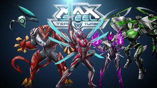 Max Steel Team Turbo