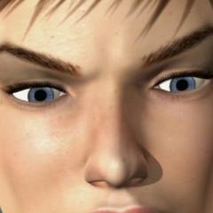 Ojos de Kat Ryan