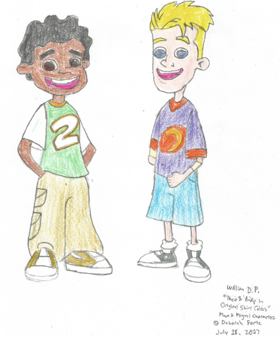File:Theo and Andy in Their Original Shirts.png