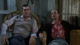 Andy and Barney singing Mayberry Union High