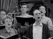 Barney and Choir
