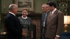 Andy Griffith Show-Emmett & Martha his wife & Goobere & his BIL