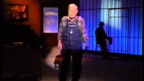 "Jack Prince ""Rafe Hollister"" with Hal ""Otis"" Smith on Nashville Now in 1991"