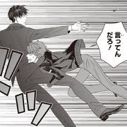 Arata stopping Satoru