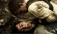Ben attacking Thomas