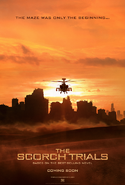 Scorch Trials poster 2