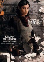 Brenda The Death Cure poster