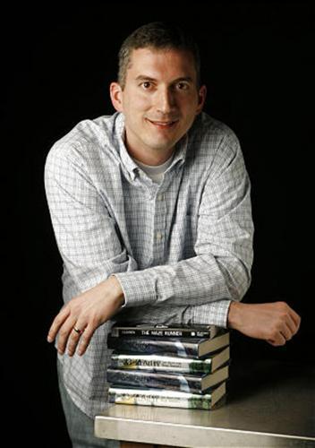 James Dashner at http://mazerunner.wikia.com/wiki/James_Dashner