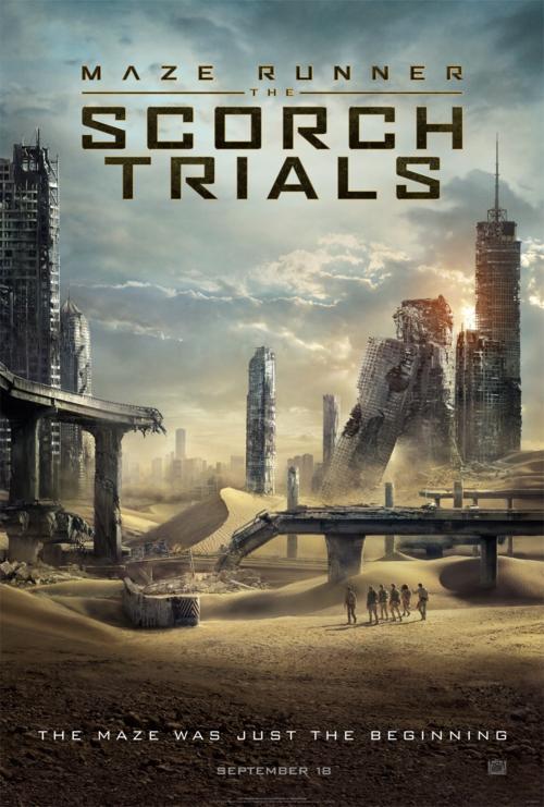 Maze Runner The Scorch Trials first poster