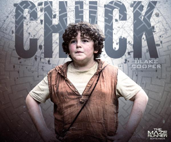 Chuck the maze runner wiki fandom powered by wikia chuck voltagebd Choice Image