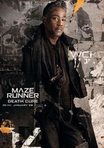 Jorge The Death Cure poster