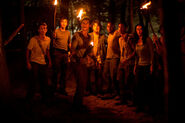Frightened Gladers