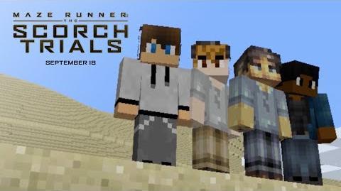 Maze Runner The Scorch Trials Minecraft Trailer HD 20th Century FOX