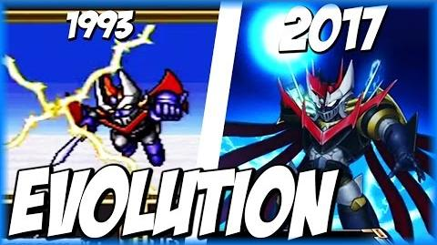 Evolution of THUNDER BREAK (1991-2017) サンダーブレーク SRW