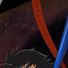 A demotivated Koji being controlled by Mazinger ZERO in Super Robot Wars V