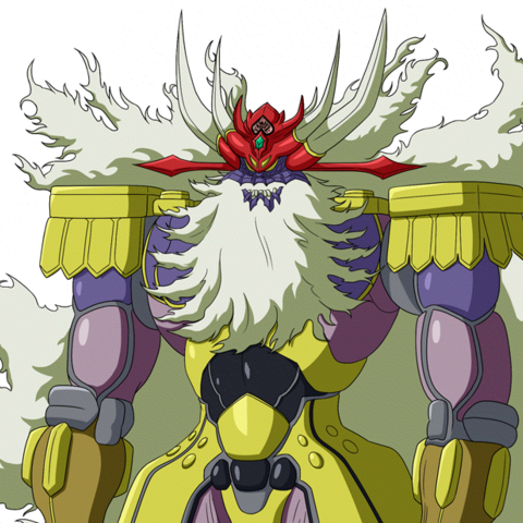 Great Marshal of Hell, from <i>Super Robot Wars X-Ω</i>