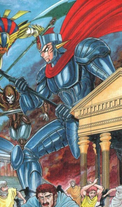 Zeus | Mazinger Wiki | Fandom