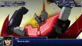 Super Robot Wars T- Mazinger Z Infinity All attacks