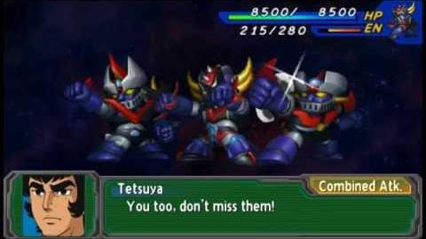 SRW A Portable - Attacks Grendizer All Attacks