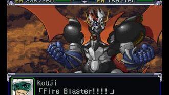 Super Robot Wars Alpha(PSX) - Mazinkaiser Attacks