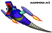 MANDORA 3 peque