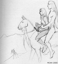 Milk-horse