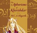 The Aphorisms of Kherishdar (fiction)