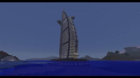 Burj Al Arab 7-Starred Hotel Minecraft