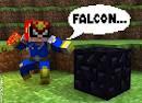 File:Captain Falcon Minecraft Skin.png