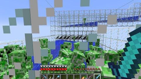 Creeper Farm Gundpowder Factory with Cats