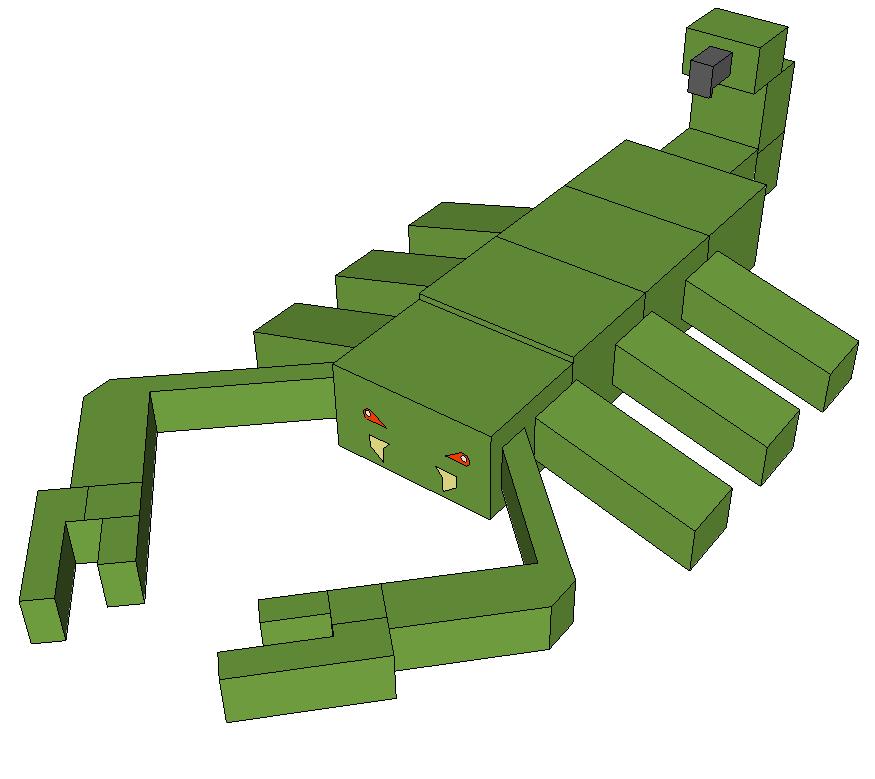 скорпион майнкрафт #3