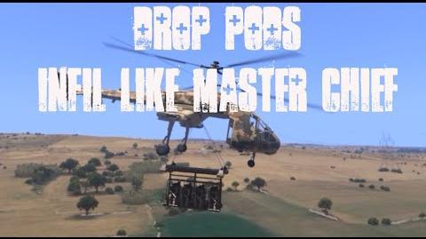 ArmA 3- MCC Sandbox Drop Pods - Infil like Master Chief