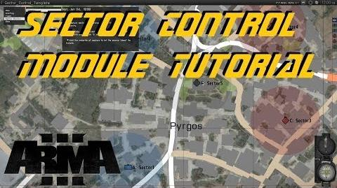 ARMA 3 Editor - Sector Control tutorial