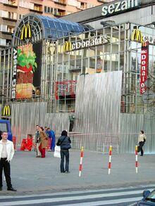 Pierwszy bar McDonald's w Polsce