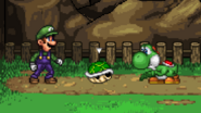 Green Shell in SSF2