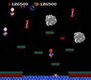 Flipper in Balloon Fight