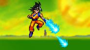 Ki Blasts Aerial