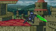 Dancing blade green