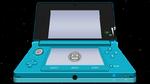 3DS Aqua Blue