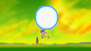 Spirit Bomb Throw