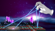 Master Hand - Lasers