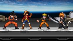 Manga and Anime characters in Smash Bros