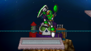Sniper jumping