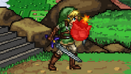 Link's bomb running out